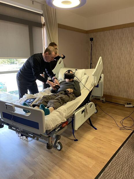 VR in a hospice